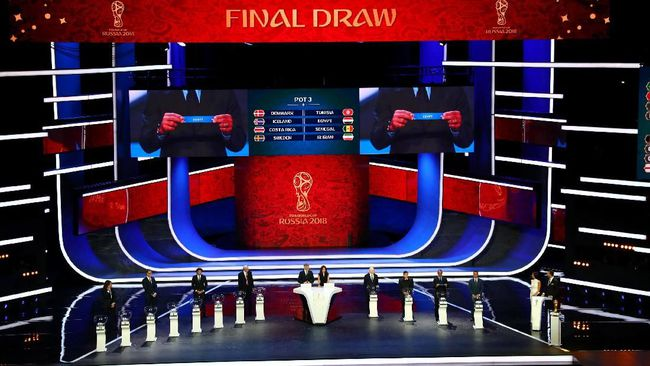 Drawing Piala Dunia 2018